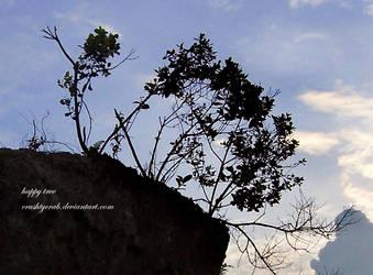 happy tree by crushtycrab