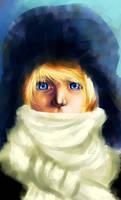 Blue eyes by UniversalDarknessKei