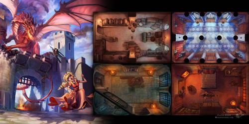 Castle Dukes by Tervola