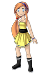 Tamara's yellow dress by khfanT