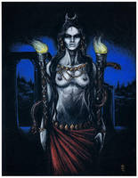 Hekate, Unconquerable Queen by Hellfurian-Guard