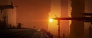 Mattepainting_Pillars_at_Dawn by Skyebrowz