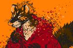 SFC - orange void by Zenophrenic