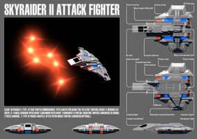 UFP Skyraider II Attack Fighter by sc452598073