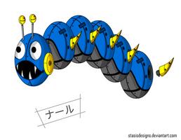 Sandworm: Needlemouse by StasisDesigns