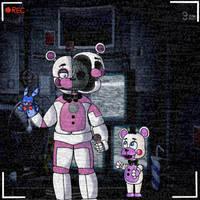 Funtime Freddy and Helpy by 88estefania