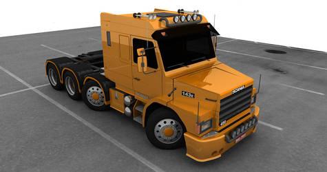 Scania 143E 450 by d-camilo87