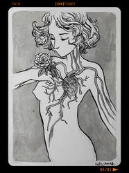 InkTober2018 - Day01 by Heri-Shinato