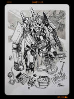 InkTober2018 - Day07 by Heri-Shinato