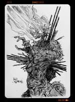 InkTober2018 - Day25 by Heri-Shinato