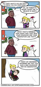 Santa by SpiritualBacon