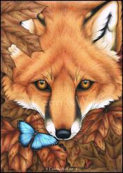Flutter Fox by FenrisxWolf