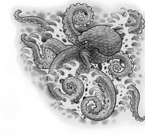 octopus by cigla