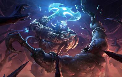 Draenei - Hearthstone: Curse of Naxxramas by KangJason