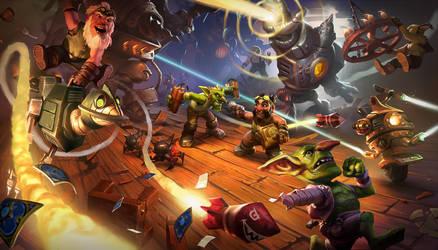 Goblins vs Gnomes Cinematic by KangJason