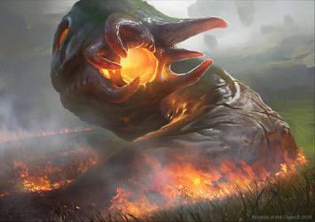 MTG: Cinder Hellion by KangJason