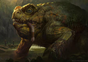 MTG: The Gitrog Monster by KangJason