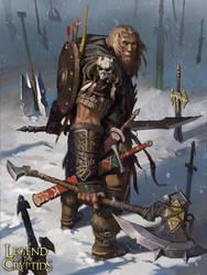 Weapon Master Belk (Normal) by KangJason