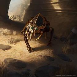 The Elder Scrolls: Legends - Nixhound Fabricant by KangJason