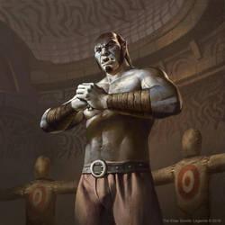 The Elder Scrolls: Legends - Camonna Tong Heavy by KangJason