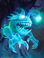 Hearthstone: Ghostlight Angler by KangJason