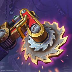 Hearthstone: Gearblade by KangJason