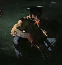 Zombie Wolverine by KangJason