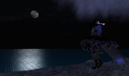 The sea is calm this night by gac64k56
