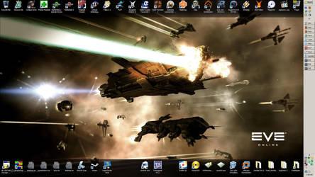 Desktop as of 21 Sept 2009 by gac64k56