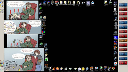Desktop as of 3 November 2009 by gac64k56