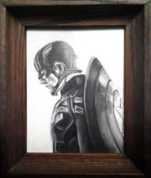 Captain America by sketchabeth