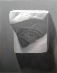 David's eye study by sketchabeth