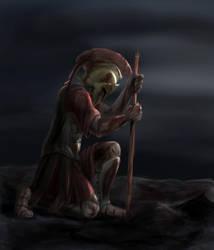 Dienekes of Sparta by sketchabeth