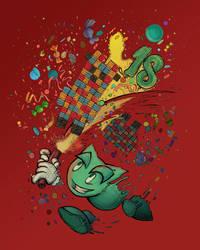 Happy Birthday Deviantart! by sketchabeth