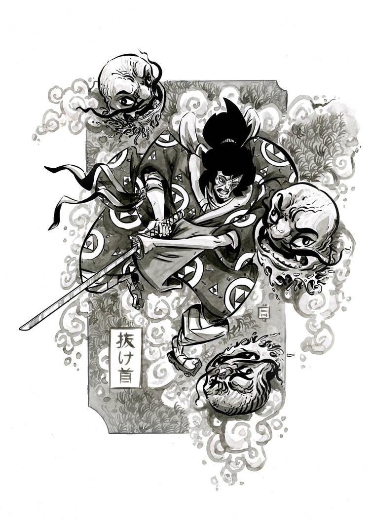 Nukekubi by LukeHorsman