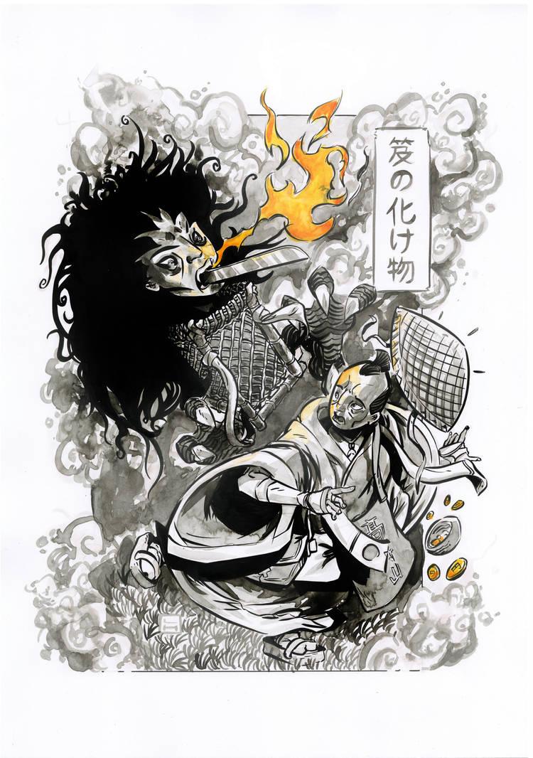 Oi No Bakemono by LukeHorsman