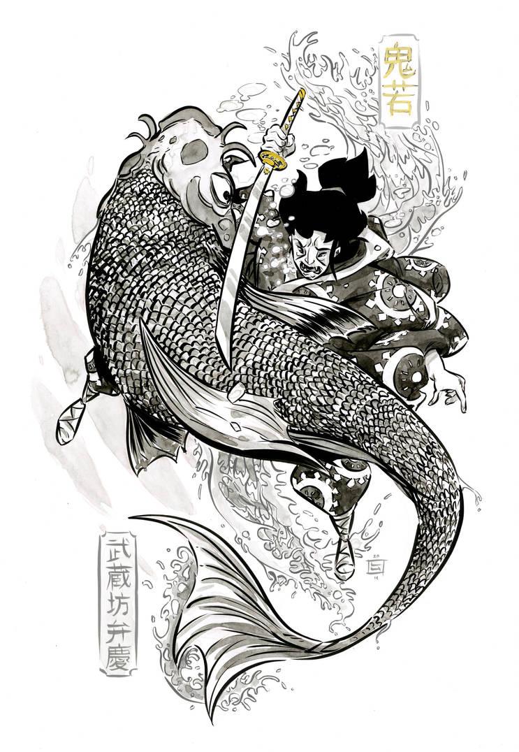 Oniwakamaru by LukeHorsman