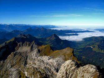 Swiss Alps by ShinzonRemus