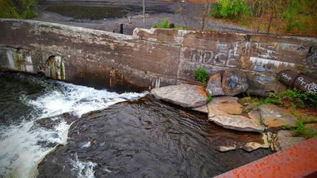 Vandalized Riverbank by MagmaStorm66