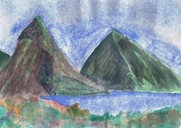 Iconic Mountains by xxBastet