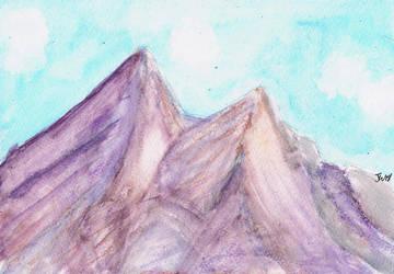 Purple Mountains by xxBastet