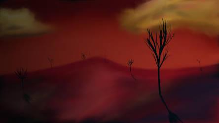 Hellish Desert by xxBastet