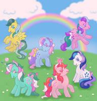 Twinkle Eyed Ponies by DonkeyInTheMiddle