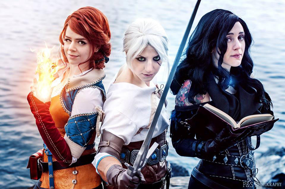 Triss and yennefer cosplay