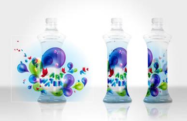 The Art Water Drops by yienkeat