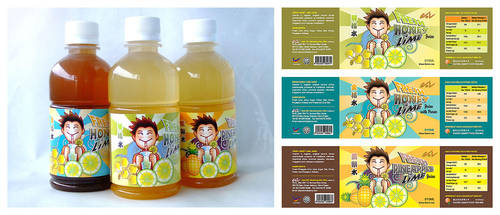 Twisted Juice Labels by yienkeat