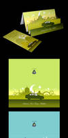 Proton Festive Greeting Cards by yienkeat