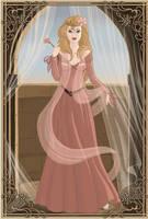 Medieval Princess Aurora by PinkPetalEntrance