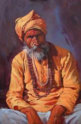 Bairagi at Varanasi by kios18