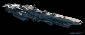 Reaper-Class Battle Cruiser by GlennClovis